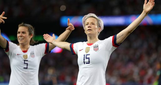 Rapinoe, USA Emerge From France Circus on Doubly Brutal Day for World Cup Hosts