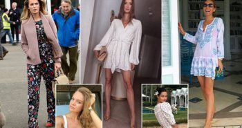 WAGs of Wimbledon! Meet the proud plus-ones who will join Kim Murray in the stands at SW19
