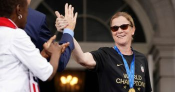 US coach Jill Ellis stepping down after two World Cup titles