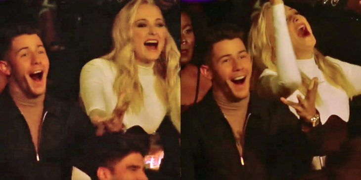 Celebrities chanted 'make out' and 'kiss' at Shawn Mendes and Camila Cabello during their VMAs performance, and freaked when it turned out to be a big tease