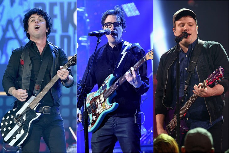 Green Day, Fall Out Boy + Weezer Announce Stadium Tour; Each Band Releases New Song