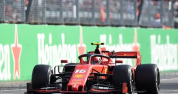 Italian GP: Charles Leclerc wins in Italy after 'dangerous' defending on Lewis Hamilton
