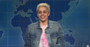 Pete Davidson returns to 'SNL' for a Weekend Update segment on STDs