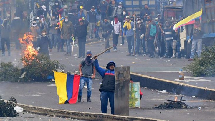Ecuadorean General Strike Wins Concession on Fuel Subsidies