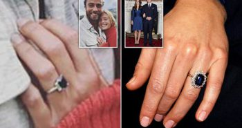 James Middleton proposes to Alizee Thevenet with sapphire ring similar to Kate Middleton's
