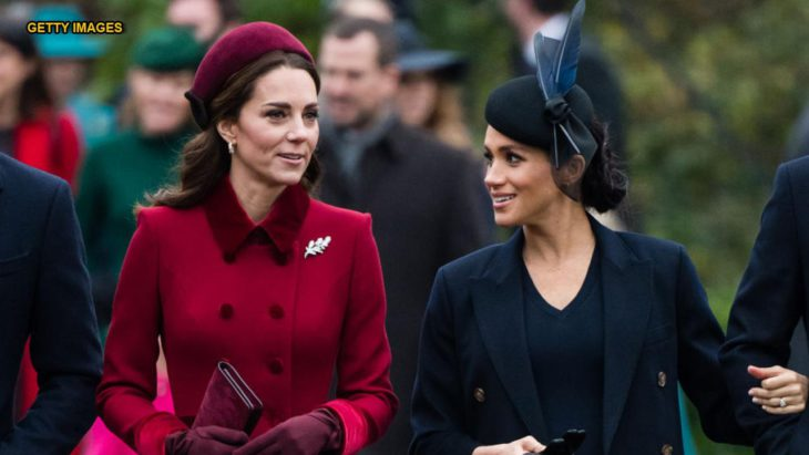 Meghan Markle has received advice from Kate Middleton on coping with media scrutiny, royal expert claims