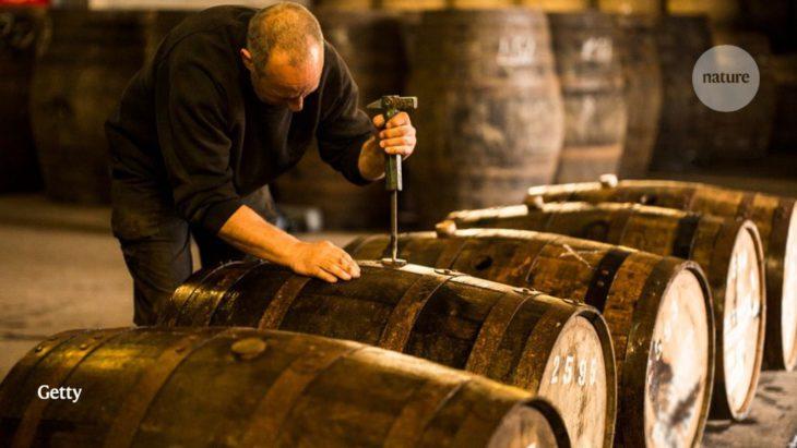 Atomic-bomb carbon unmasks fraudulent luxury whisky