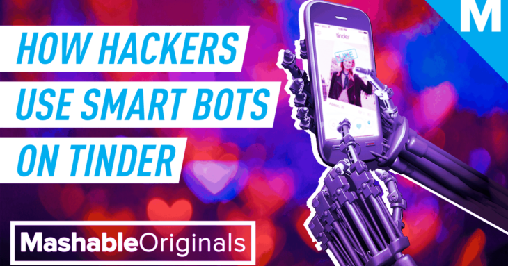 Hackers are using AI & facial recognition on Tinder — Mashable Originals
