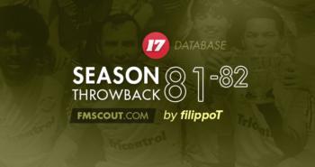 FM17 Season Throwback 1981-82