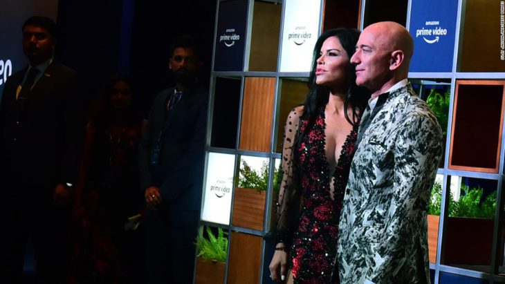 Jeff Bezos sued for defamation by his girlfriend's brother