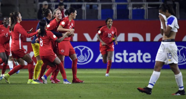 Olympic berth takes some heat off the Canadian women's soccer team, but the work has just begun