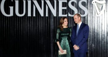 'It's not often I find myself following the Queen to a pub' – Duke and Duchess of Cambridge visit Guinness Storehouse