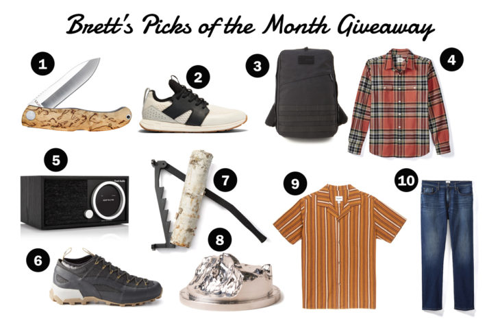 The Monthly Huckberry Giveaway: March 2020