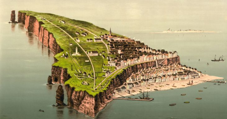 This tiny island has 1,400 residents and no cars. But its real story lies underground