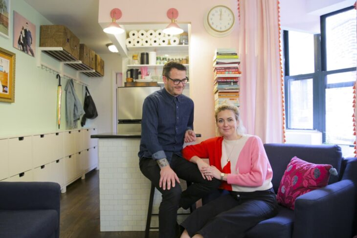 An Organized 350-Square-Foot NYC Apartment Will Make You Re-Think Your Storage