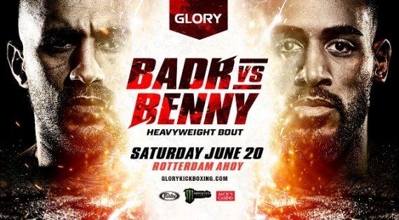 Glory Kickboxing Postpones Glory 78 'Badr vs. Benny' on June 20