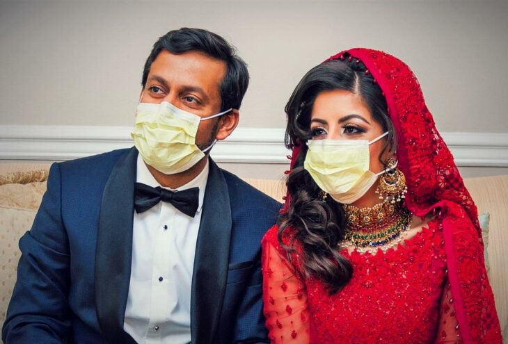 Two young American doctors spend honeymoon fighting coronavirus