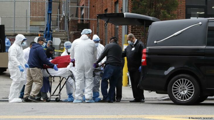 Coronavirus latest: US death toll surpasses China's