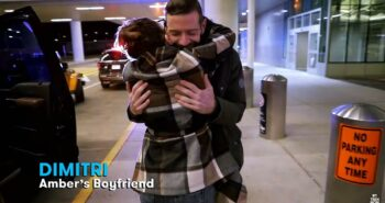 Teen Mom OG : Amber Portwood Picks Up Boyfriend Dimitri from the Airport with Ex Gary Shirley