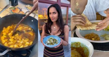 Cooking In Quarantine With Top Chef Host Padma Lakshmi Means Tasting Many Nations