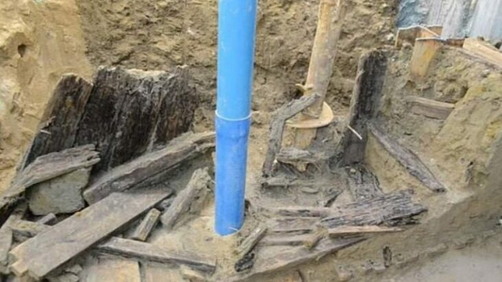Secret, wood-lined tunnel dating to the 1800s unearthed by archaeologists