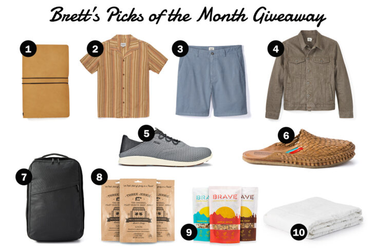 The Monthly Huckberry Giveaway: May 2020