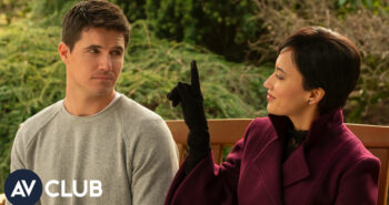 Upload's Robbie Amell and Andy Allo on the challenges of dating a dead person