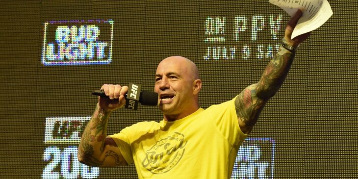 Spotify spikes 11% on exclusive podcast deal with Joe Rogan (SPOT)
