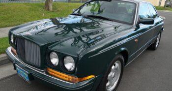 BaT Auction: 9k-Mile 1994 Bentley Continental R