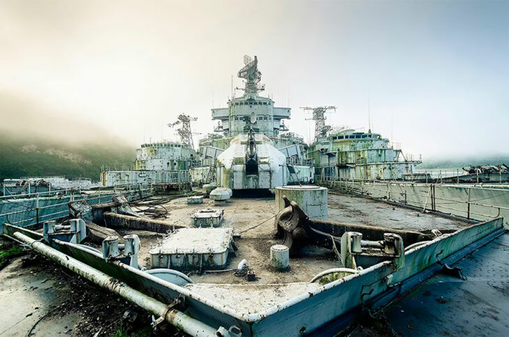 Post Apocalyptic Views: Dutch Photographer's Lens Captures Graveyard Of French Warships