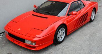 BaT Auction: Euro 1987 Ferrari Testarossa