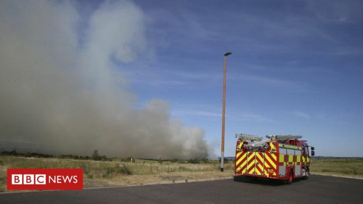 Belfast: Residents told to close windows after 'significant' blaze