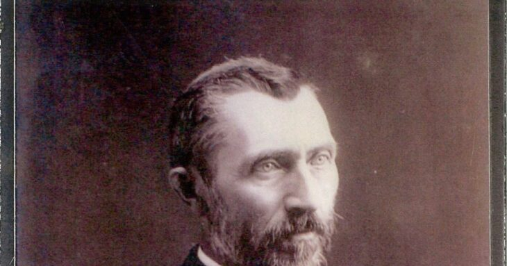 A Rare Photograph of Vincent van Gogh Taken in 1886
