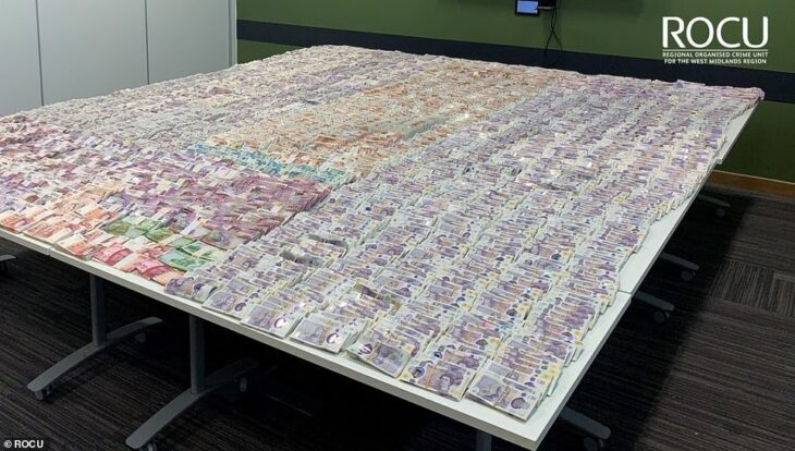 Police reveal haul from Britain's biggest-EVER crime bust after cracking gangsters' 'enigma code' and gaining access to shadowy Dutch firm's encrypted phones used for 'worry-free chats' about murder, guns and drugs