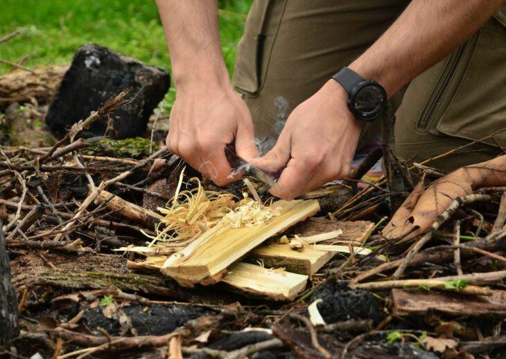 The best ways to start a campfire