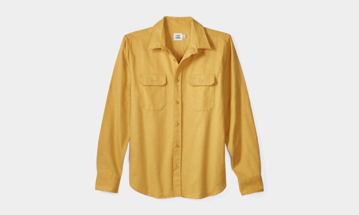 Today's Steals (7.24.2020): Flint and Tinder Chamois Overshirt – 70% Off ++