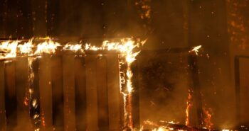 Firestorms kindled by lightning displace tens of thousands in California – Reuters