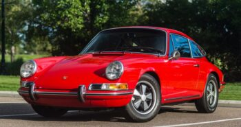 BaT Auction: 27k-Mile 1970 Porsche 911T Coupe