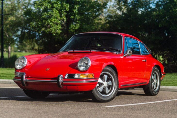 BaT Auction: 27k-Mile 1970 Porsche 911T Coupe