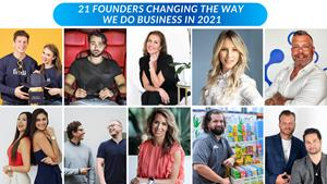 Top 21 Founders Changing The Way We Do Business in 2021 – GlobeNewswire