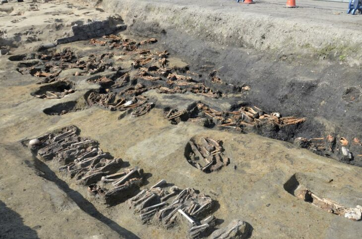 Over 1500 human bones found at Osaka historical grave site – Reuters Africa