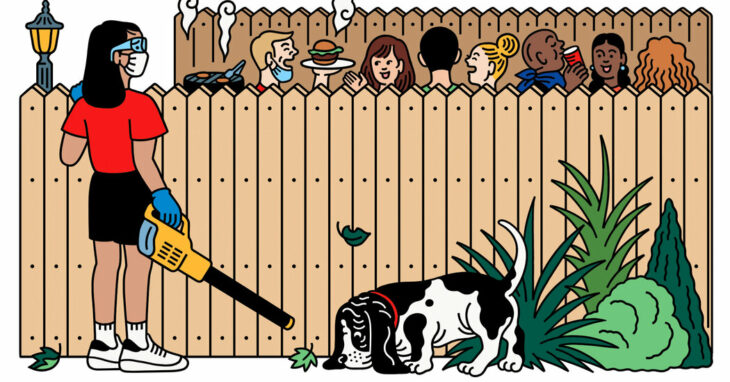 What Do We Do About a Neighbor Who Breaks Distancing Rules?