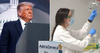 Drug giant AstraZeneca rejects Donald Trump's 'plan to fast-track the jab'