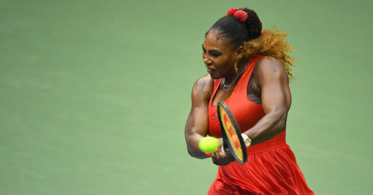 Serena Williams Wins First Match of U.S. Open