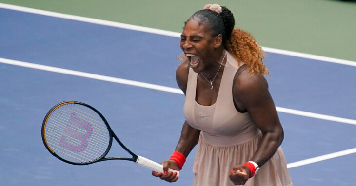 With No Crowd, Serena Williams Rallies Herself to Reach U.S. Open Quarterfinals