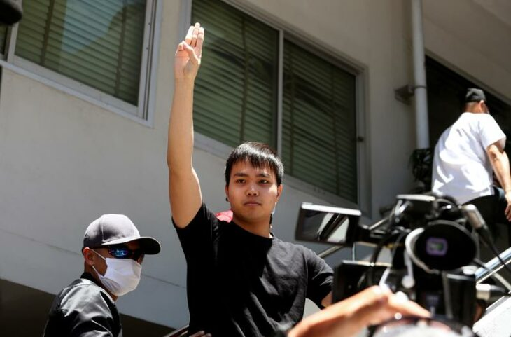 The Thai protest leader who emerged with a kiss – Reuters