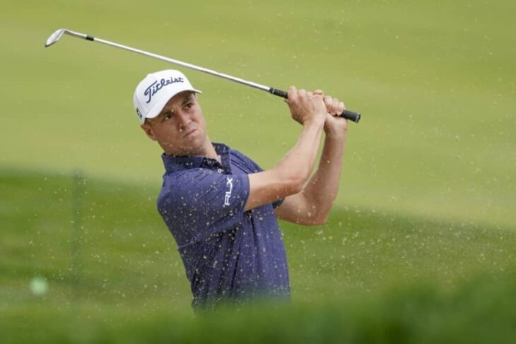 Justin Thomas takes U.S. Open lead on soft, kind Winged Foot