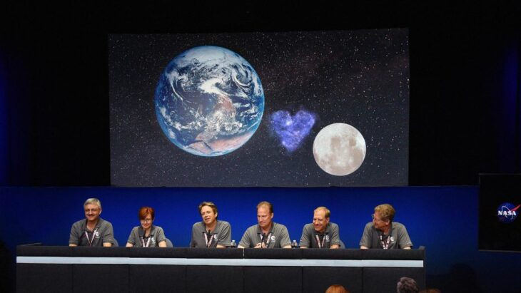 NASA Scientists Confirm Earth Dating The Moon