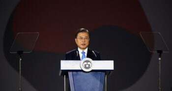 South Korea ready for talks with Japan to improve ties, Moon tells Suga – Reuters UK